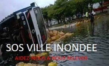Project visual SOS VILLE INONDEE/ CITY FLOODED