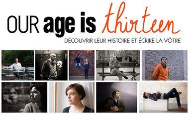 Visuel du projet Our age is thirteen - a photography webmagazine