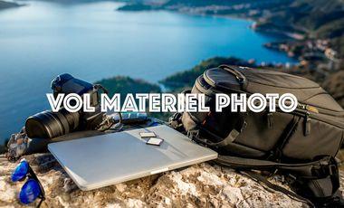 Project visual Vol Matériel Photo