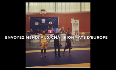 Project visual Championnat d'Europe de Jiu-Jitsu Brésilien
