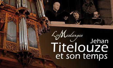 """Project visual Disque """"Musiques au temps de Jehan Titelouze"""" Orgue, voix, cornet, sacqueboutes, serpent"""