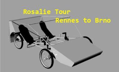 Visueel van project Rosalie Tour