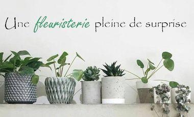 Visuel du projet Une fleuristerie pleine de surprise...