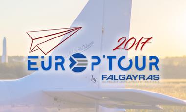 Visueel van project EUROP'TOUR 2017