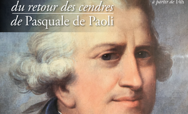 Project visual Commémoration du retour des cendres de Pasquale Paoli