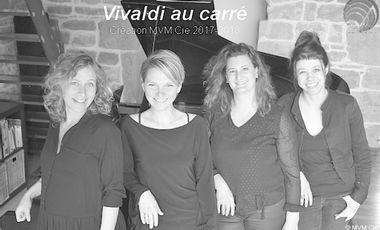 """Visuel du projet Création pluridisciplinaire """"Vivaldi au carré"""""""