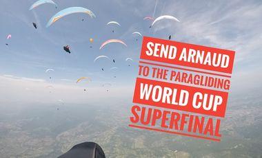 Visuel du projet Arnaud at the Paragliding World cup Superfinal