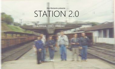 Visueel van project Station 2.0