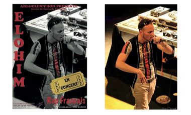 Visueel van project ALBUM ELOHIM RAP FRANCAIS