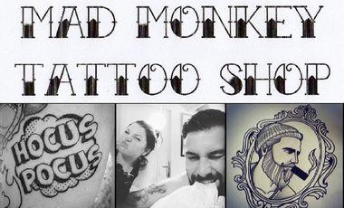 Visuel du projet Mad Monkey Tattoo Shop
