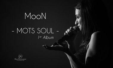 "Visueel van project Premier Album de MooN : ""Mots Soul"""