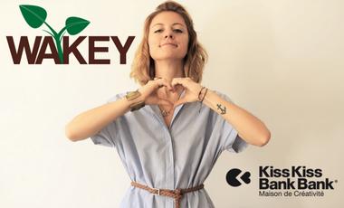 Project visual Wakey - Boutique de cosmétiques véganes et écologiques