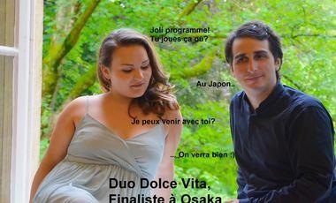 Visueel van project Duo Dolce Vita, Finaliste à Osaka