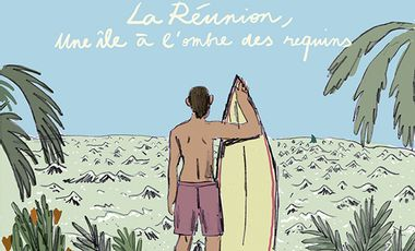 Visueel van project La Réunion, une île à l'ombre des requins