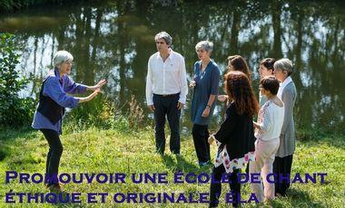 Visueel van project éla, l'Ecole de Chant Leïla Aimée