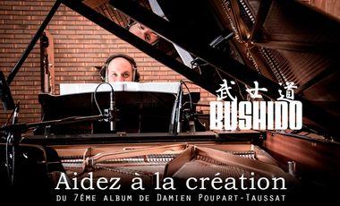 "Visueel van project Album ""BUSHIDO"" de Damien Poupart-Taussat"