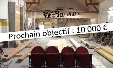Visueel van project Rue de Belleville - Théâtre en construction