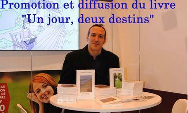 """Project visual Promotion et diffusion du Livre """"Un jour, deux destins"""""""