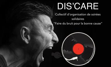 Visueel van project Dis'care