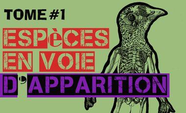 Project visual Le premier livre d'art sur les Espèces en Voie d'Apparition