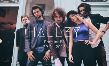 Project visual Hālley - Premier EP
