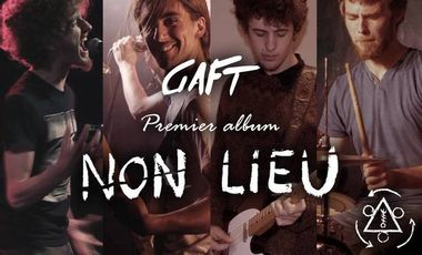 "Visueel van project GAFT - 1er Album ""Non Lieu"""