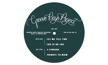 Visuel du projet Groove Boys Project Record 001
