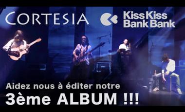 Visueel van project CORTESIA - Le 3ème Album!