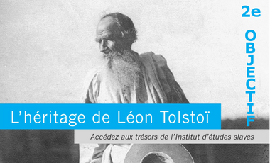Visueel van project L'héritage de Léon Tolstoï