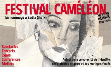 Visueel van project Festival Caméléon, en hommage à Sadia Sheikh
