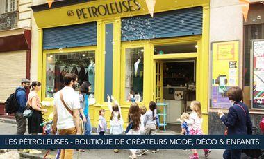 Project visual Les Pétroleuses - Boutique de créateurs mode, déco & enfant