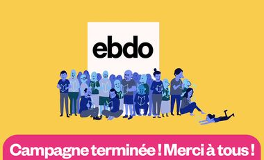 Visueel van project Ebdo : un journal indépendant et inspirant