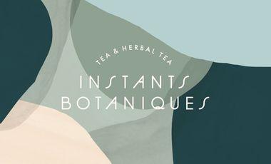 Visueel van project Instants Botaniques - gamme de thés et infusions BIO