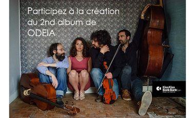 Visueel van project Odeia / 2nd album