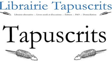 Visueel van project Librairie alternative Tapuscrits