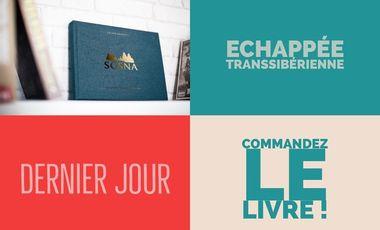 Project visual SOSNA - Echappée transsibérienne - Livre de photographies