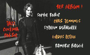Project visual CITY STEPS: 1er Album Sophie Robic et Le Robic's Club