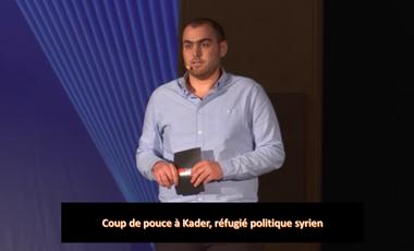 Visuel du projet Coup de pouce pour Kader, réfugié politique syrien