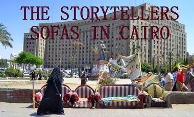 Project visual The storytellers - Sofas in Cairo