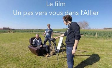 Visueel van project un pas vers vous dans l'Allier!
