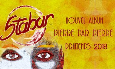 Visueel van project Stabar - Pierre Par Pierre (3ème Album)