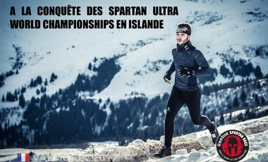 Visueel van project À la conquête des Spartan Ultra World Championships en Islande