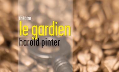 """Visueel van project """"Le Gardien"""" de Harold Pinter"""