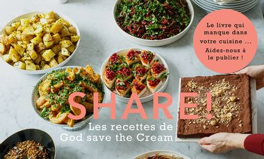 Visueel van project SHARE! Les recettes à partager de GOD SAVE THE CREAM