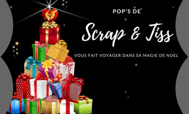 Project visual Scrap & Tiss vous fait voyager dans sa magie de Noël