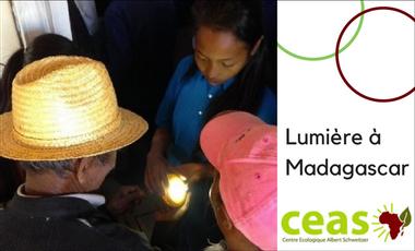 Project visual Lumière à Madagascar