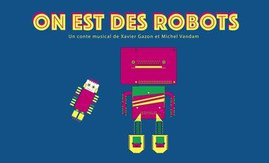 Visueel van project On est des robots