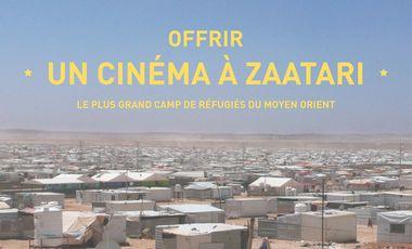 Visueel van project Un cinéma à Zaatari