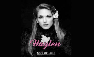 """Visueel van project Haylen nouvel EP """"Out Of Line"""""""