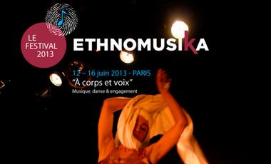 Visueel van project Festival ethnomusiKa 'A Corps et Voix : musique, danse et engagement'